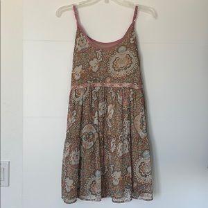 BOG Boho print dress